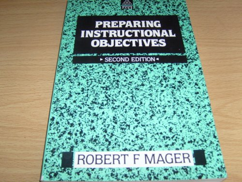 9780749405946: Preparing Instructional Objectives