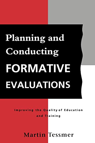 9780749408015: Planning and Conducting Formative Evaluations (Teaching in Higher Education S)