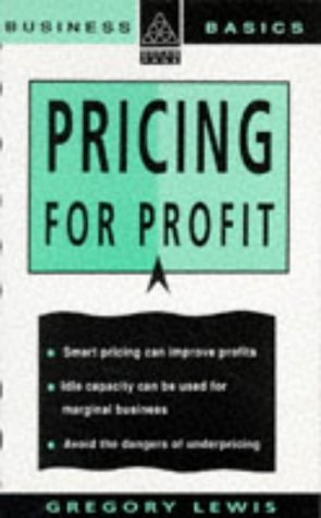 9780749408329: Pricing for Profit (Business Basics)