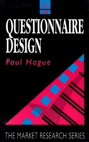 9780749409173: Questionnaire Design (Market Research)