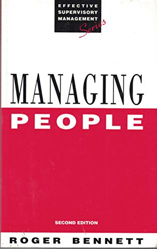 Managing People (Effective Supervisory Management) (0749412682) by ROGER BENNETT