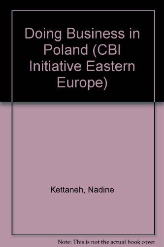 Doing Business in Poland (CBI Initiative Eastern Europe): Nathanson, Nabarro