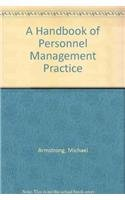 9780749415471: A Handbook of Personnel Management Practice