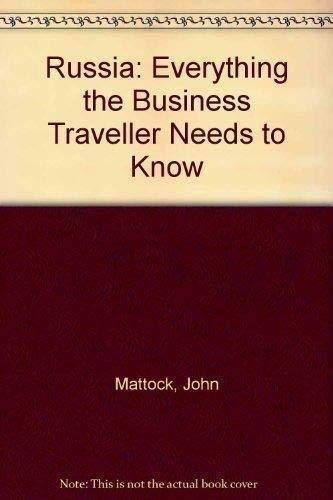 9780749419646: Russia: Everything the Business Traveller Needs to Know