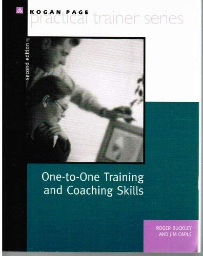 9780749420659: One to One Training and Coaching Skills (Kogan Page Practical Trainer Series)