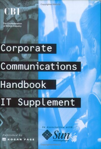 Corporate Communication (Irwin Business Communications) Paul A Argenti