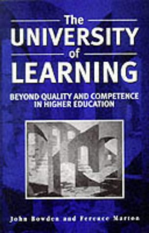 9780749422929: The University of Learning: Beyond Quality and Competence