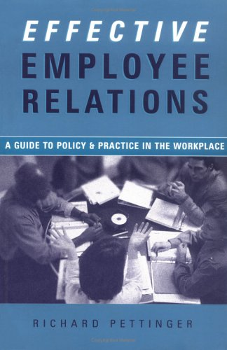 the managers pocket guide to employee relations fitzwater terry