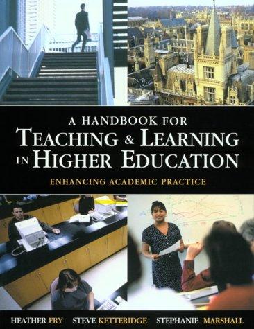 9780749429485: Handbook for Teaching & Learning in Higher Education
