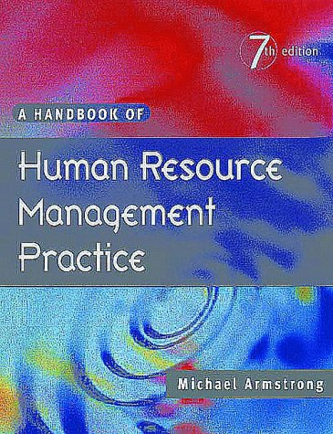 Armstrong, M., A Handbook of Personnel Management Practice ...
