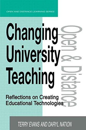 9780749430641: Changing University Teaching: Reflections on Creating Educational Technologies (Open and Flexible Learning Series)