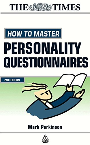 How to Master Personality Questionnaires (Testing Series): Parkinson, Mark