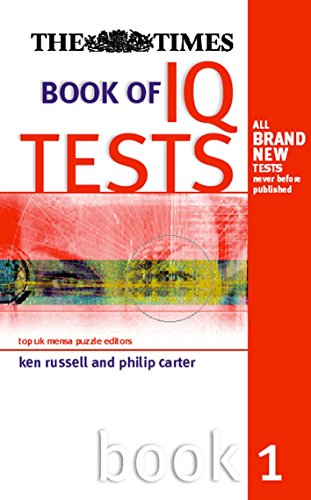 9780749434731: Times Book of IQ Tests, Book One (Bk.1)