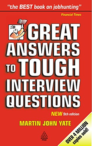 9780749435523: Great Answers to Tough Interview Questions