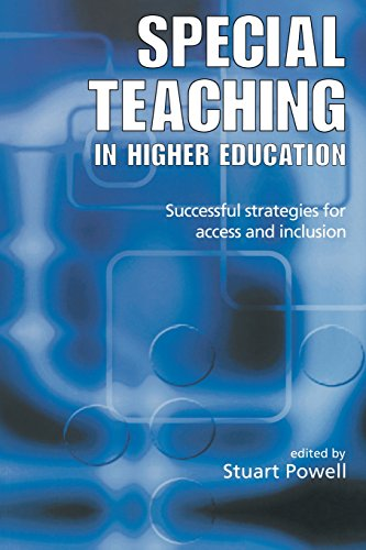 9780749436117: Special Teaching in Higher Education: Successful Strategies for Access and Inclusion