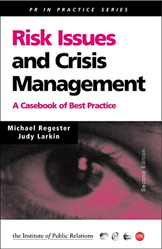 9780749436353: Risk Issues and Crisis Management: A Casebook of Best Practice (PR In Practice)