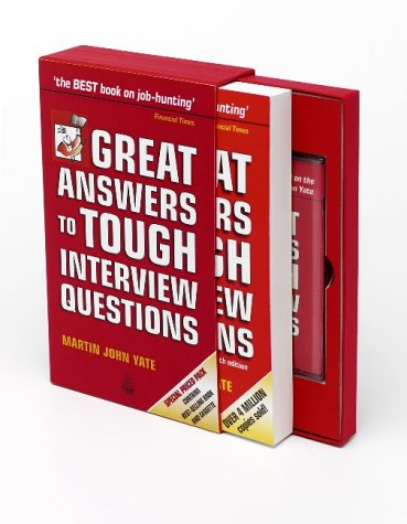 9780749436384: Great Answers to Tough Interview Questions (Book & Tape Slipcase Edition)