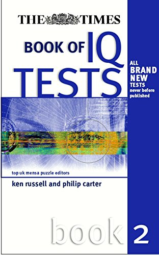 Times Book of IQ Tests (0749437332) by Ken Russell; Philip Carter