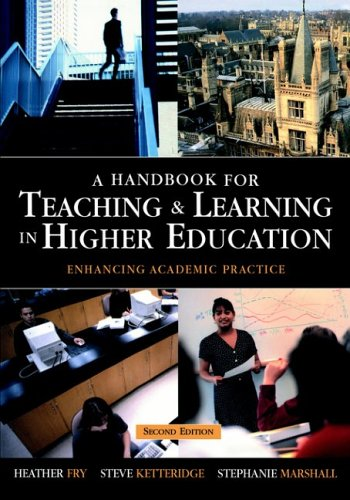 9780749438777: A Handbook for Teaching and Learning in Higher Education: Enhancing Academic Practice