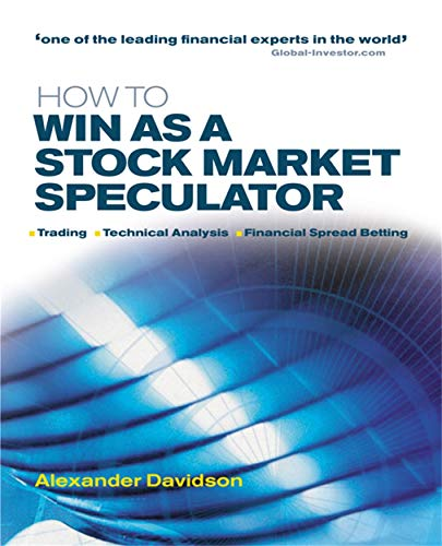 9780749440176: How to Win as a Stock Market Speculator