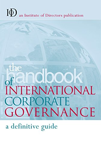 Handbook of International Corporate Governance: A Country By Country Guide: Chris Pierce, Kerrie ...