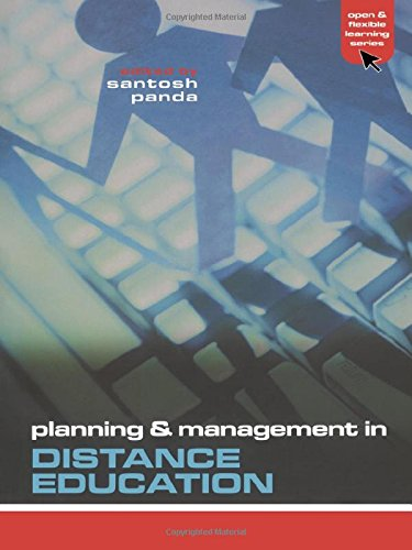 9780749440688: Planning and Management in Distance Education (Open and Flexible Learning Series)