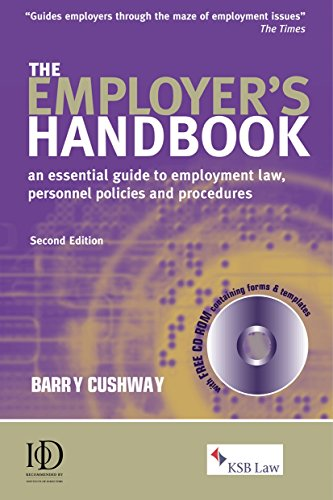 9780749441333: The Employer's Handbook: An Essential Guide to Employment Law Personnel Policies and Procedures