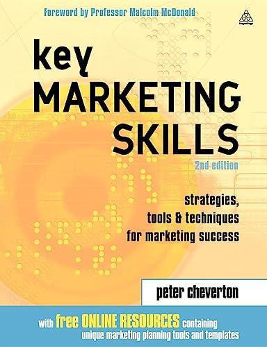 9780749442989: Key Marketing Skills