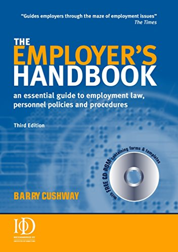9780749443504: The Employer's Handbook: An Essential Guide to Employment Law Personnel Policies and Procedures