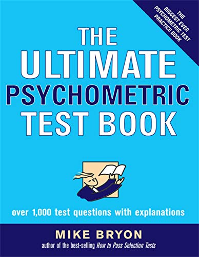 9780749444587: The Ultimate Psychometric Test Book: Over 1,000 Test Questions With Explanations