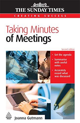 9780749445591: Taking Minutes of Meetings
