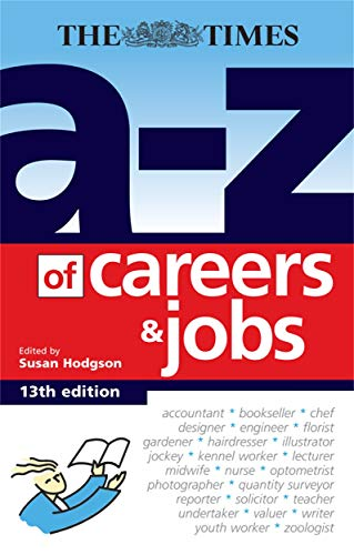 A-Z of Careers and Jobs: Hodgson, Susan