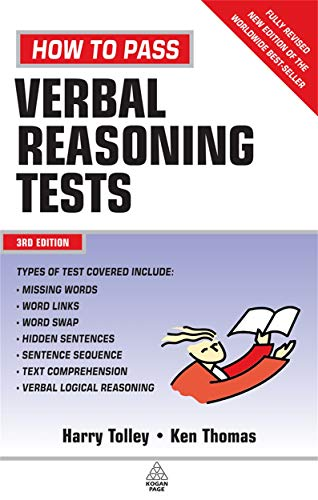 How to Pass Verbal Reasoning Tests: Tolley, Harry; Thomas, Ken