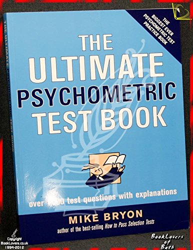 9780749449131: The Ultimate Psychometric Test Book: Over 1,000 Test Questions With Explanations