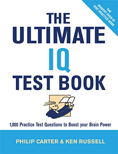 9780749449476: The Ultimate IQ Test Book: 1,000 Practice Test Questions to Boost Your Brain Power