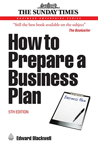 How to Prepare a Business Plan (Sunday Times)