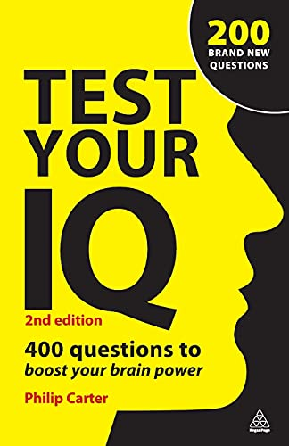 9780749456771: Test Your IQ: 400 Questions to Boost Your Brainpower