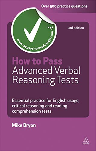 9780749460792: How to Pass Advanced Verbal Reasoning Tests: Essential Practice for English Usage, Critical Reasoning and Reading Comprehension Tests (Testing Series)