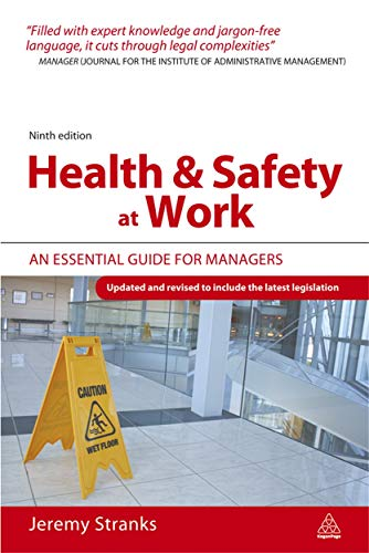 Health and Safety at Work: Stranks, Jeremy