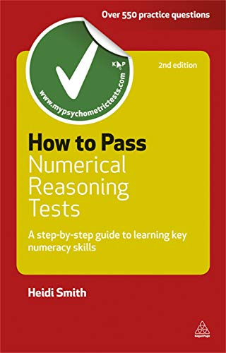 9780749461720: How to Pass Numerical Reasoning Tests: A Step-by-Step Guide to Learning Key Numeracy Skills (Careers & Testing)