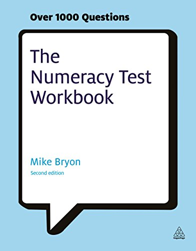 9780749462079: The Numeracy Test Workbook: Everything You Need for a Successful Programme of Self Study Including Quick Tests and Full-length Realistic Mock-ups