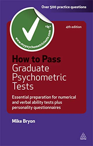 9780749462093: How to Pass Graduate Psychometric Tests: Essential Preparation for Numerical and Verbal Ability Tests Plus Personality Questionnaires