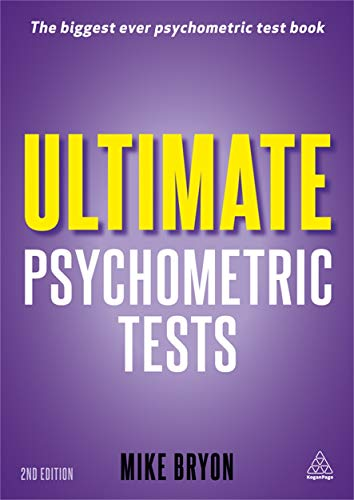 9780749463496: Ultimate Psychometric Tests: Over 1000 Verbal Numerical Diagrammatic and IQ Practice Tests