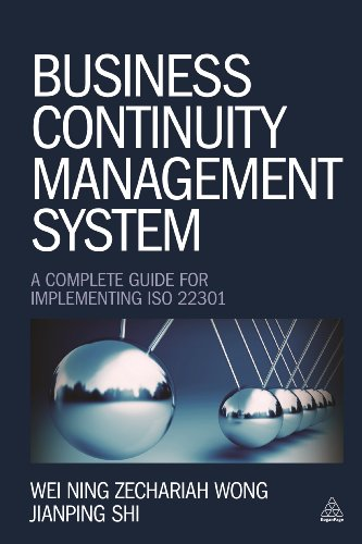 9780749469115: Business Continuity Management System: A Complete Guide to Implementing ISO 22301