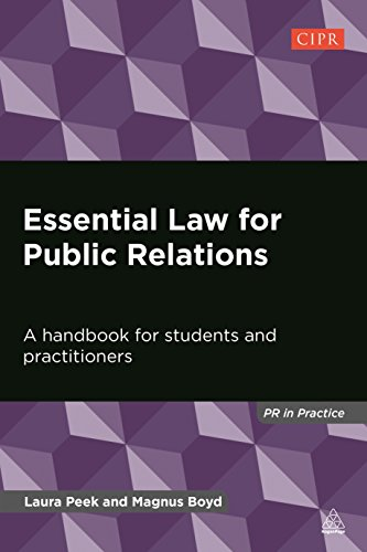 9780749469177: Essential Law for Public Relations: A Handbook for Students and Practitioners (PR In Practice)