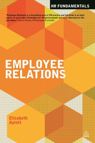 Employee Relations (HR Fundamentals): Aylott, Elizabeth