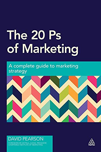 The 20 Ps of Marketing: Pearson, David