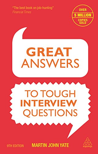 9780749471453: Great Answers to Tough Interview Questions