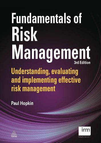 9780749472443: Fundamentals of Risk Management: Understanding, Evaluating and Implementing Effective Risk Management