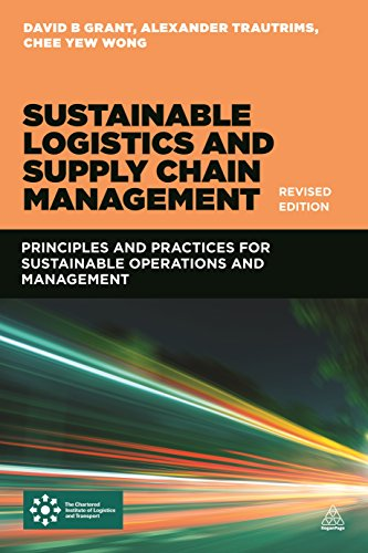 9780749473860: Sustainable Logistics and Supply Chain Management